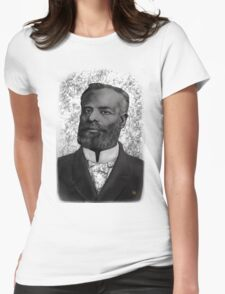 Elijah McCoy  THE REAL MCCOY ! Womens Fitted T-Shirt
