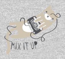 Mixtape Kitty Kids Tee