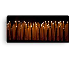 Propane Candles Canvas Print