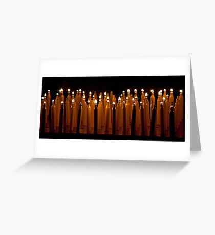 Propane Candles Greeting Card