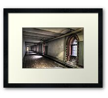 Long and Low Framed Print