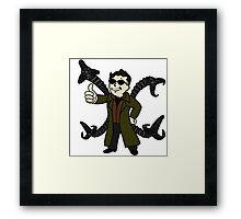 Dr Octopus Fallout Vault Boy Framed Print