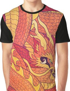 Coiled Dragon Graphic T-Shirt
