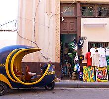 On A Side Street by Janice Chiu