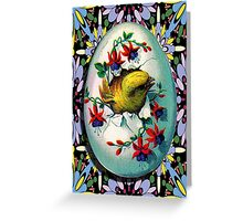 EASTER WING Greeting Card