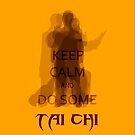 Keep Calm and Do Some TAI CHI II by Shaojie Wang