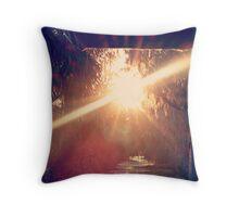 sunlight inspiration Throw Pillow