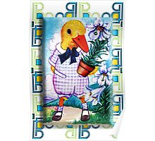 EASTER DUCKY Poster