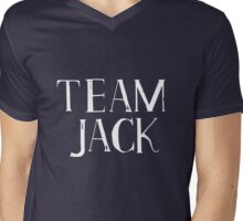 Team Jack - white text Mens V-Neck T-Shirt