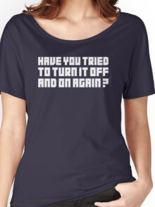 Turn It Off Women's Relaxed Fit T-Shirt