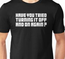 Turning It Off Unisex T-Shirt