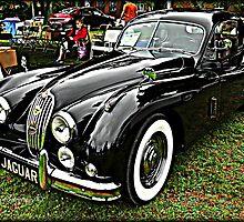 1956 Jaguar XK 140 FHC by BLAKSTEEL