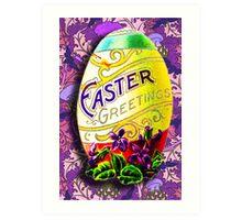 EASTER GREETINGS Art Print