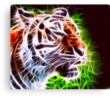 Fiery Tiger Canvas Print