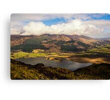 Skiddaw, Cumbria Canvas Print