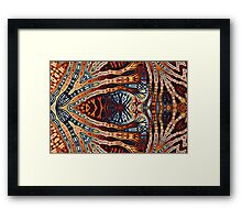Geometric Patterns No. 53 Framed Print