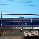 Train Bridge - Duck - 07 03 13 by Robert Phillips