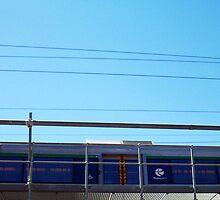 Train Bridge - 07 03 13 by Robert Phillips