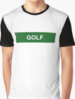 Golf - Green Graphic T-Shirt