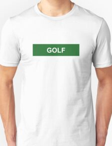Golf - Green Unisex T-Shirt