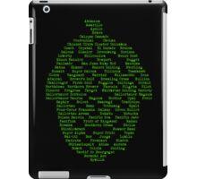 Hop Varieties of The World iPad Case/Skin