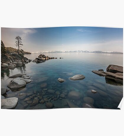 Clear Morning - Lake Tahoe Poster