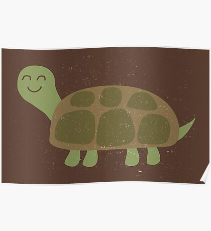 Baby Turtle Poster