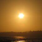 Hazy Sunset by kangarookid