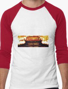 Christine - 1958 Plymouth Fury (White Font) Men's Baseball ¾ T-Shirt