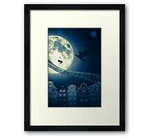 The way to the dragon's nest! Framed Print