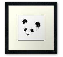 Watercolor Panda Framed Print