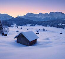 Frozen Dawn by Michael Breitung