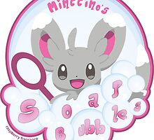 minccino's soap bubbles  by Alex Magnus