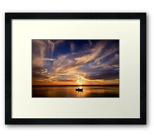 Autumn Sunset (9-3-13) Framed Print