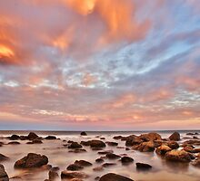 Colours Over the Rocks by John Sharp