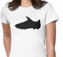 Football Shoe Womens Fitted T-Shirt