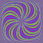 Eye boggling swirl by Norma Cornes