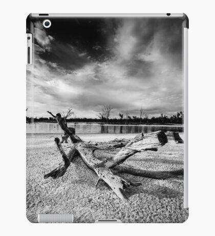 Fallen tree in dry lake - Kings Billabong iPad Case/Skin