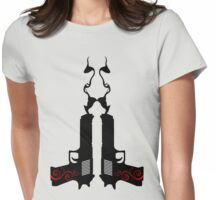 Smooking Guns Womens Fitted T-Shirt