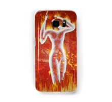 Woman born of fire Samsung Galaxy Case/Skin