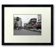 Streetscape on sunday,Adana. Framed Print