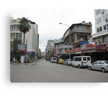 Streetscape on sunday,Adana. Canvas Print