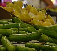 Cucumber, pears and ... by Labonni