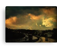 12 Days Of Rain Canvas Print