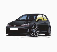 VW Golf (Mk7) GTi Black by Richard Yeomans