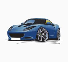 Lotus Evora Blue by Richard Yeomans