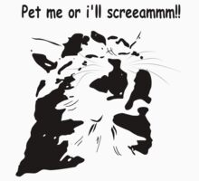 Pet me or ill Scream! by Dweeble