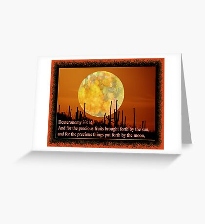 Foods of the earth... Greeting Card