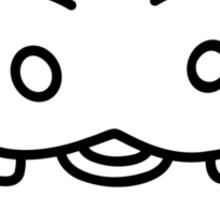 Happy Baby Hippo Sticker