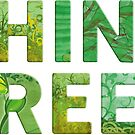 Think Green Awareness - Happy quote by Silvia Neto